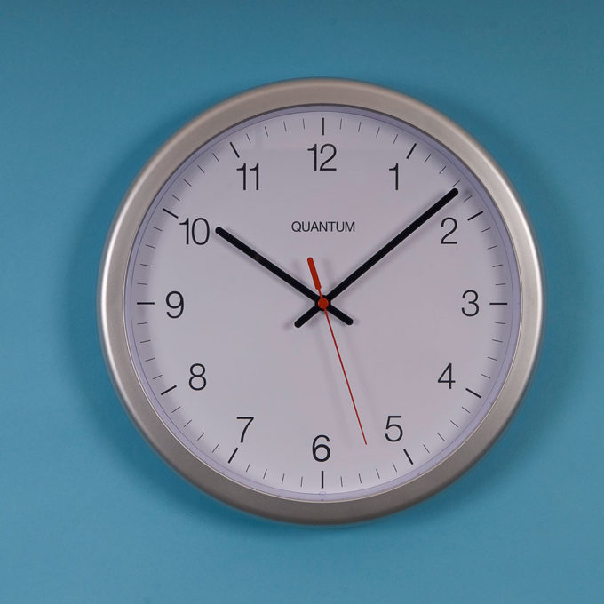 Wall Clock Quantum 2130