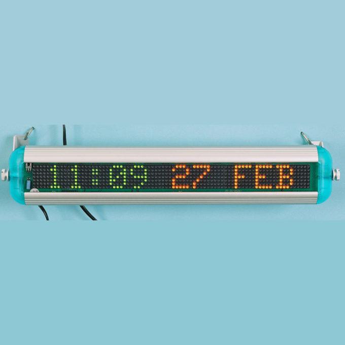 LED Calendar Clock 2280