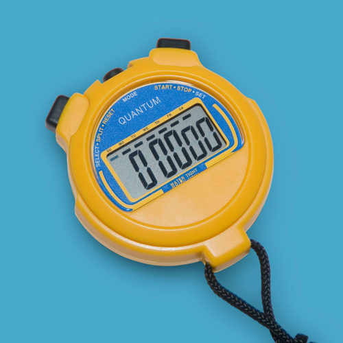 Extended Battery Life LCD Stopwatch 309/3v