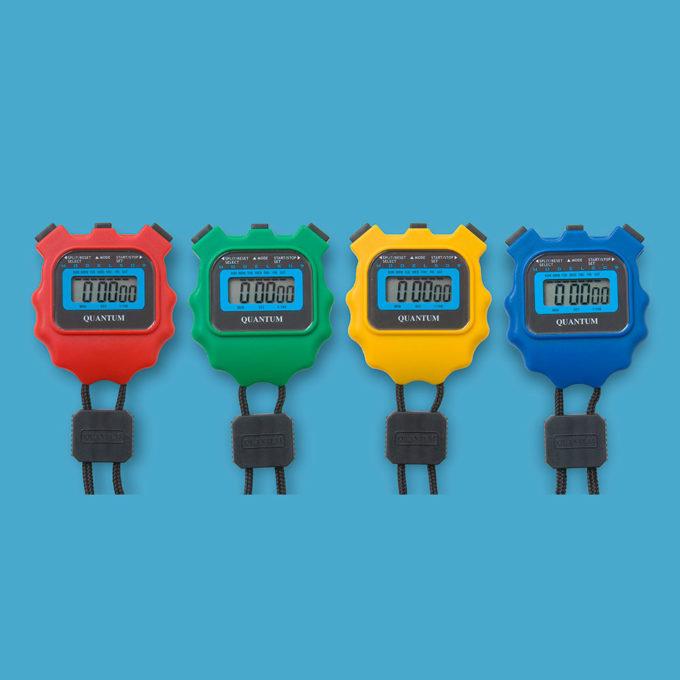 LCD Stopwatch Set 4 x 509/3v