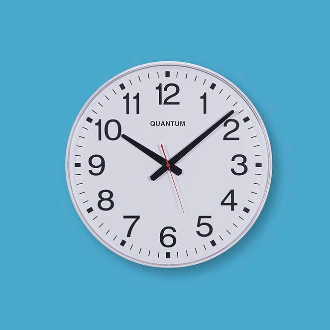 Large Wall Clock Quantum 6206
