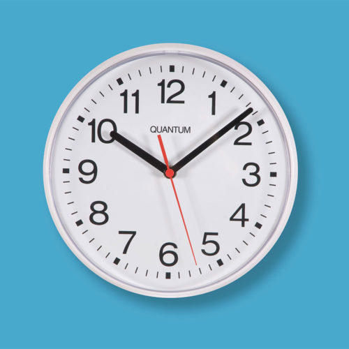Small 12hr Dial Wall Clock 900