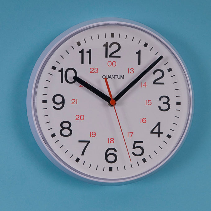 Small 24hr Dial Wall Clock 950