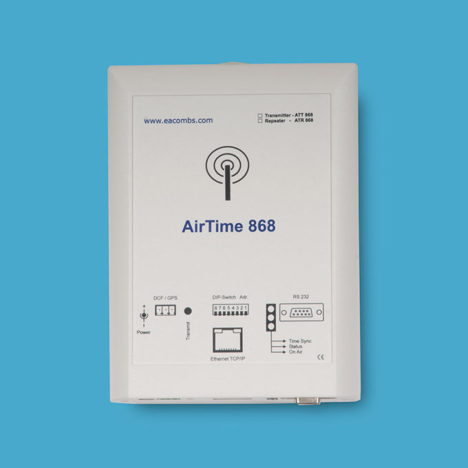 AirTime 868 Wireless Masterclock Transmitter/Repeater