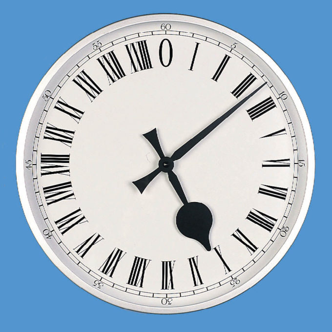 24hr Wall Clock C060