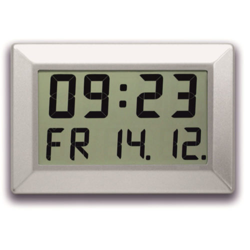 LCD Time & Date Clock C310