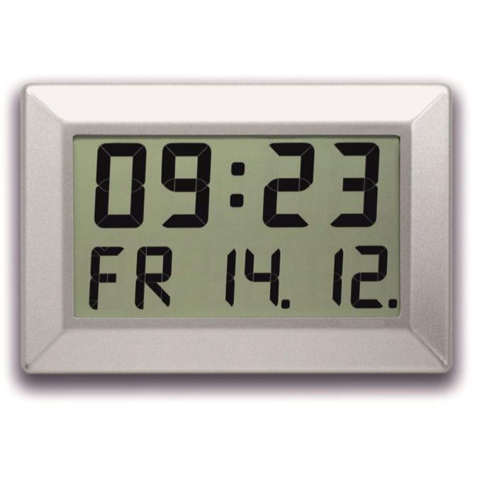 LCD Time & Date Clock C310