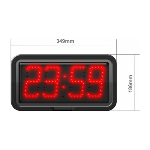 100mm digit height LED with Hours & Minutes CZA10