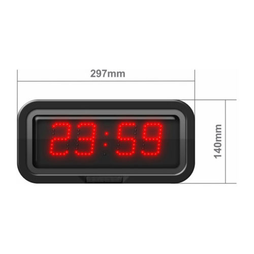 50mm digit height LED with Hours & Minutes CZA5