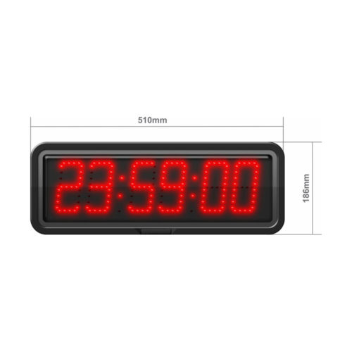 100mm digit LED with Hours, Minutes & Seconds CZB10