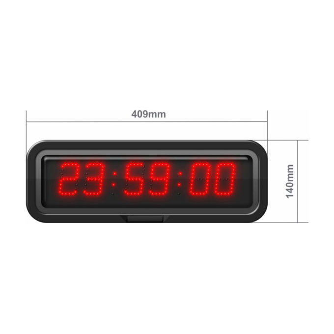 50mm digit LED with Hours, Minutes & Seconds CZB5