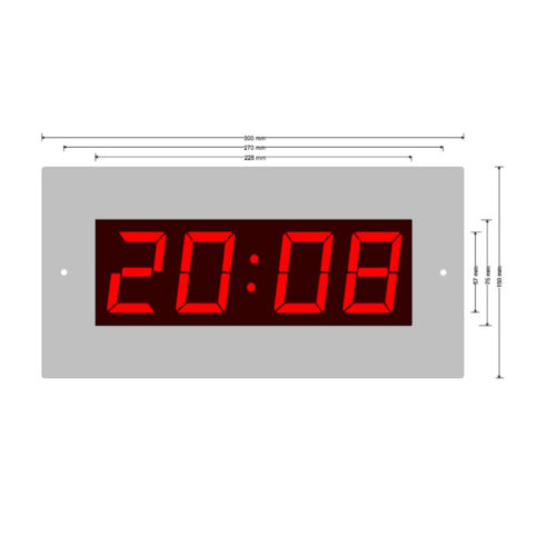 LED time of day clock LW 57-4
